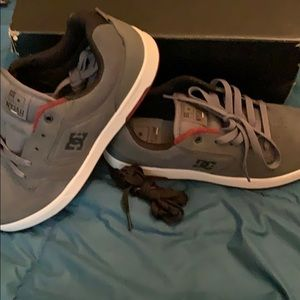 New DC grey shoes